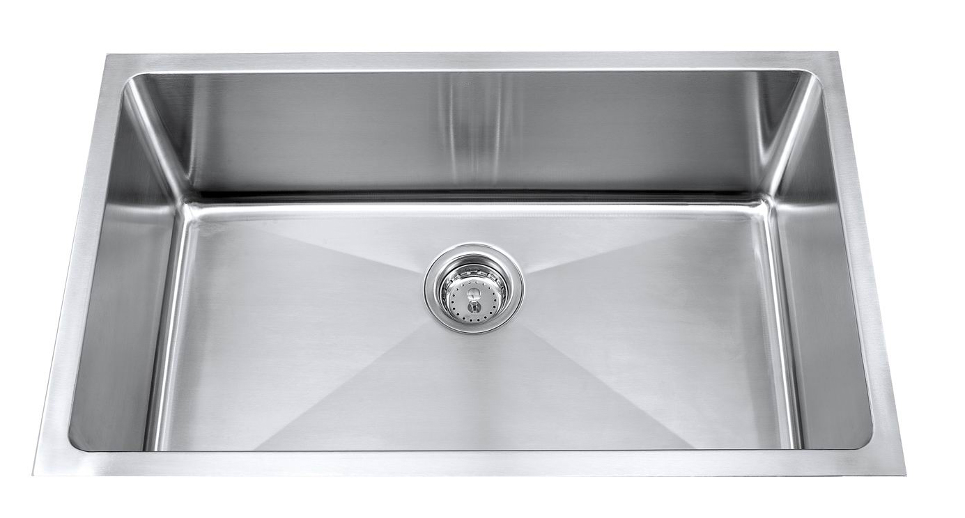 ks1092ss12ss-ada kitchen sink - signature plumbing specialties